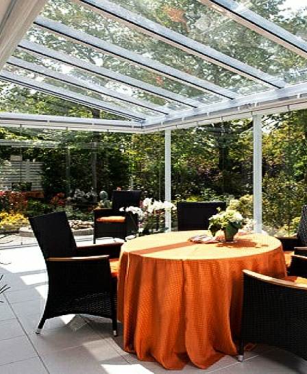 Sun Lounges as Orangery Extensions